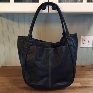 Leather Tignanello Carry All Tote